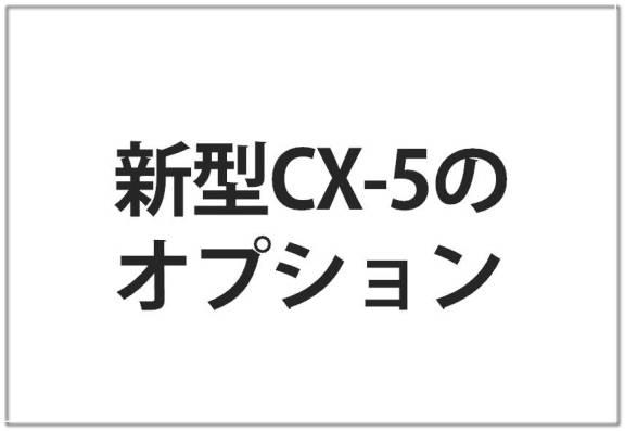 cx-5の人気オプションとカーナビ