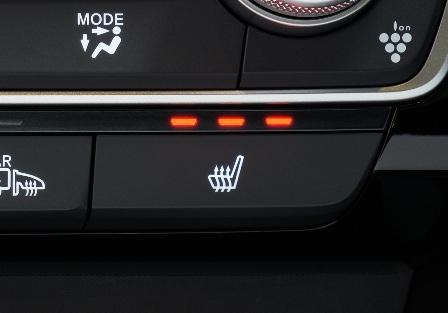 新型インサイトのシートヒーター