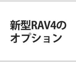 RAV4のオプション