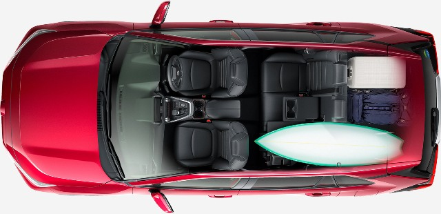 新型RAV4の車中泊