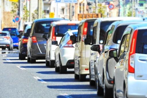 プリウスのシフトレバーBの渋滞時