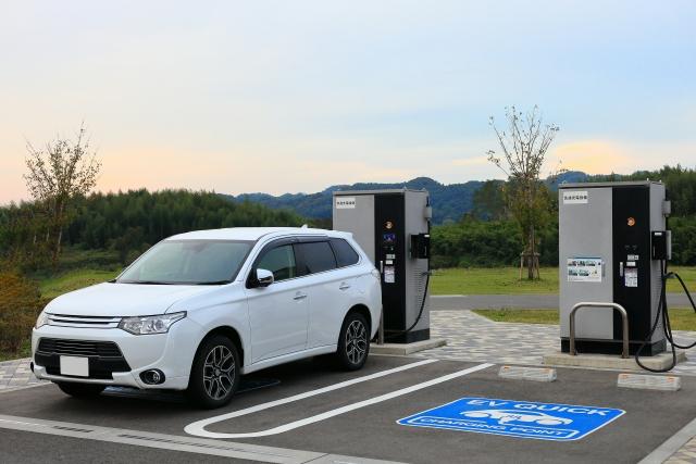日本の電気自動車(EV)の普及率